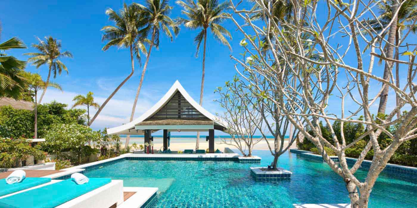 Beachfront villa PV 701 in Koh Samui
