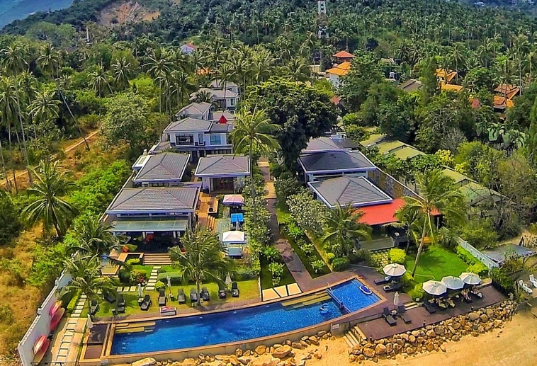 Комплекс вилл The Lotus Terraces на острове Самуи (Koh Samui), Таиланд