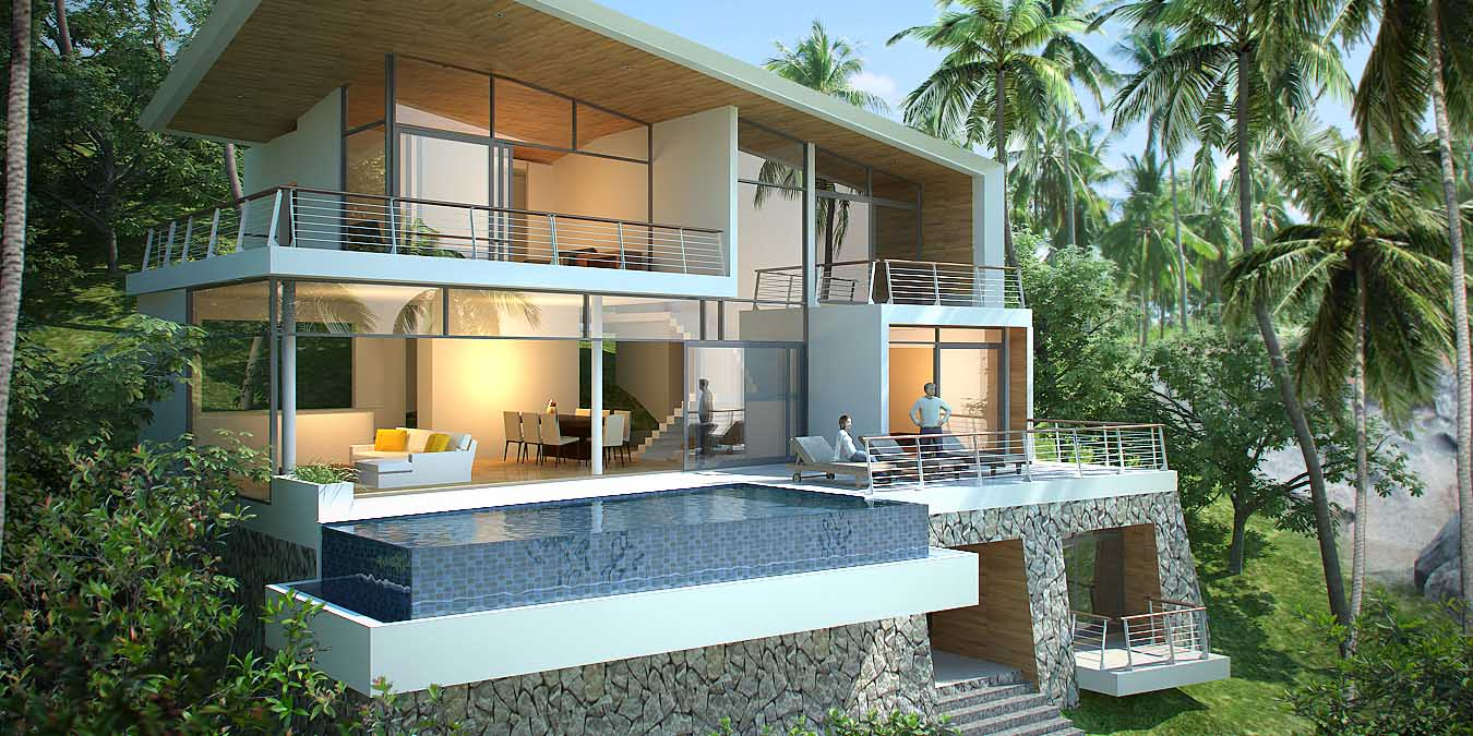 The Amethyst Villa в комплексе Oasis Samui